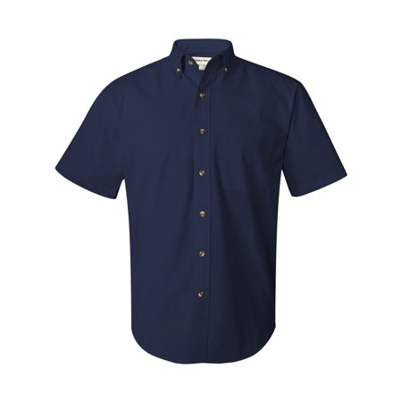 Men's short sleeve light weight twill shirt