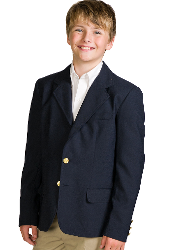 NFA-Navy Blazer for Toddler / Youth sizes