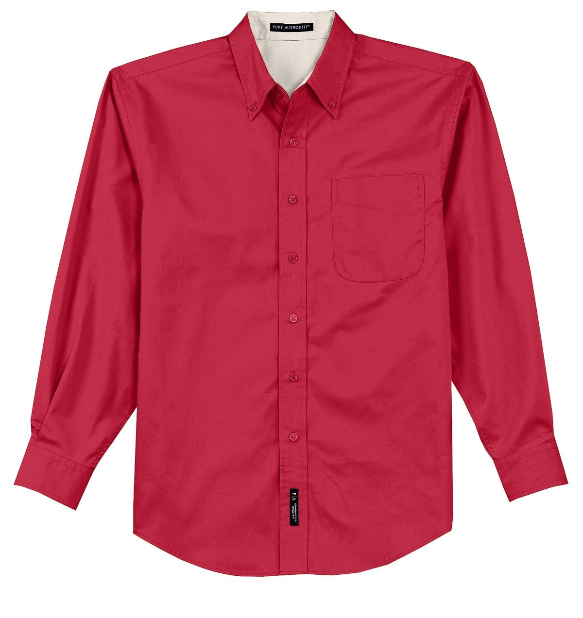 Tall Long Sleeve Easy Care Shirt Code - TLS608