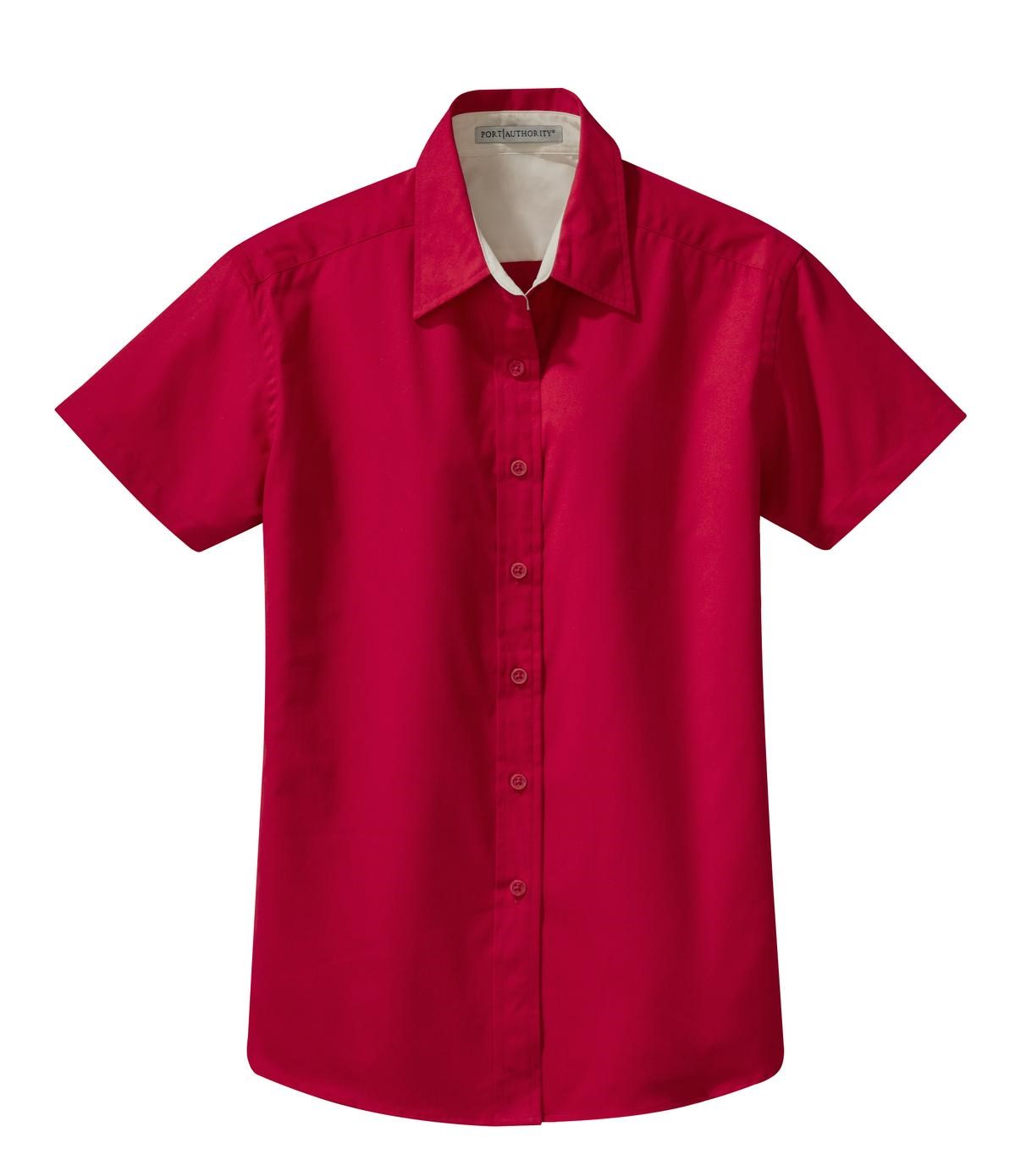 Ladies Short Sleeve Easy Care Shirt Code - L508
