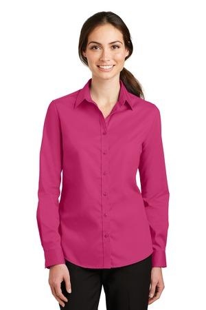 Ladies Long Sleeve Super Pro-Twill Shirt Code- L663
